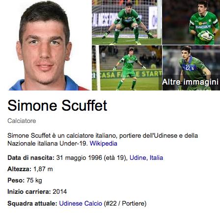 Simone Scuffet profile
